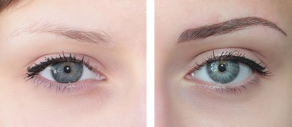 Eyebrows permanent microblading makeup tattoo for Eyebrow tattoo artist